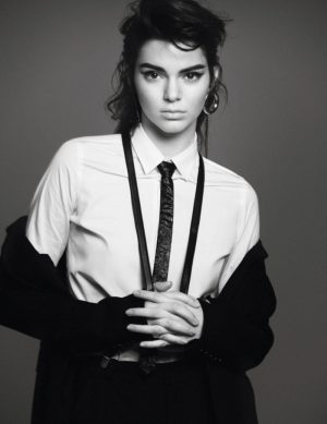 Kendall Jenner Takes On Tomboy Style for Vogue Paris