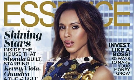 Kerry Washington on Essence October 2015 cover