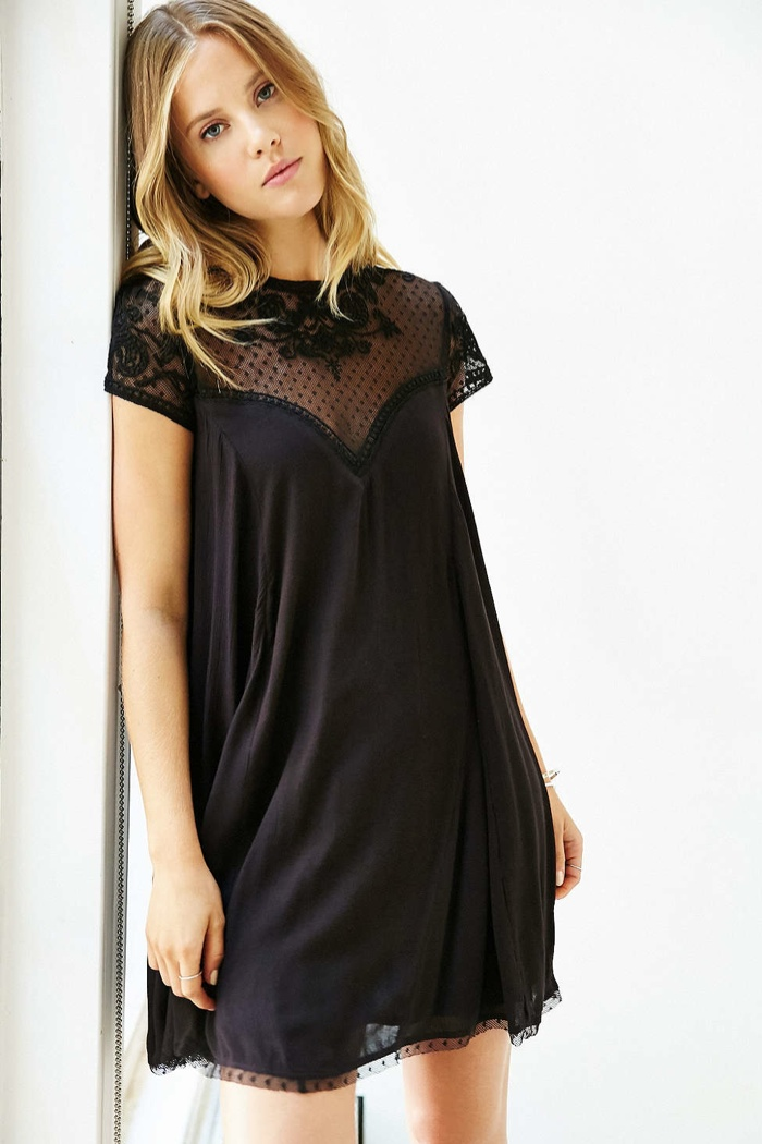 Kimchi Blue Lily Embellished Trapeze Dress available for $98.00