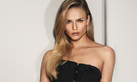 Natasha Poly stars in La Perla's fall-winter 2015 catalogue