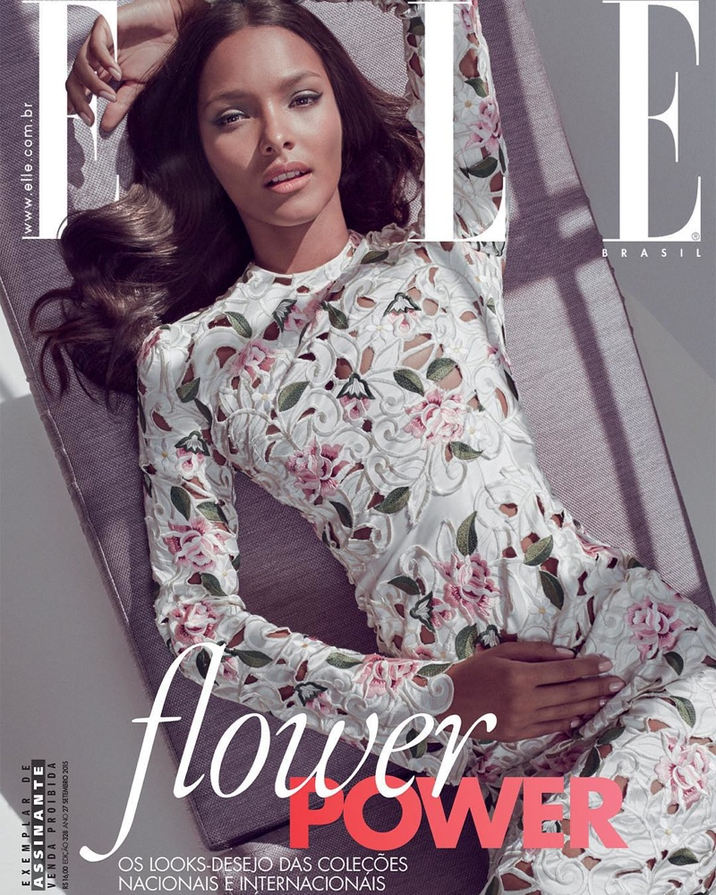 Lais Ribeiro on ELLE Brazil September 2015 cover