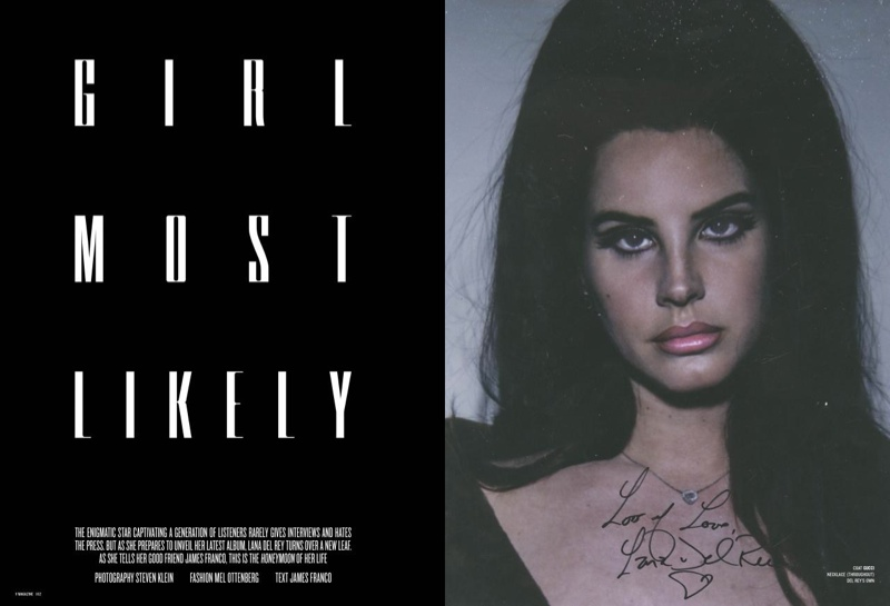 Lana Del Rey poses in polaroids photographed by Steven Klein