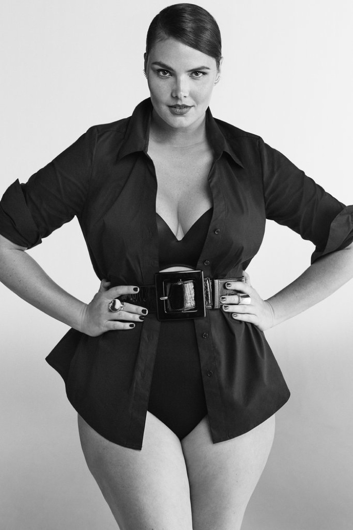 Candice Huffine for Lane Bryant