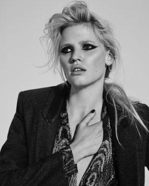 Lara Stone is Rock 'n' Roll Chic for Richard Bush in L'Express Styles