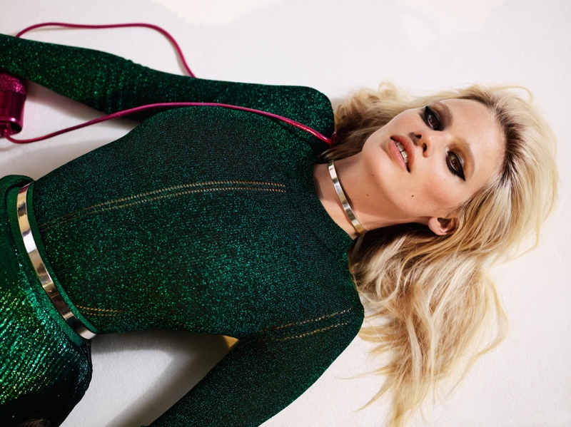 Lara Stone Models Christopher Kane in Sunday Times Style by Richard Bush