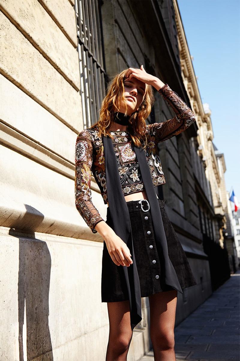 Laura Kampman - Zara  Fall Lookbook