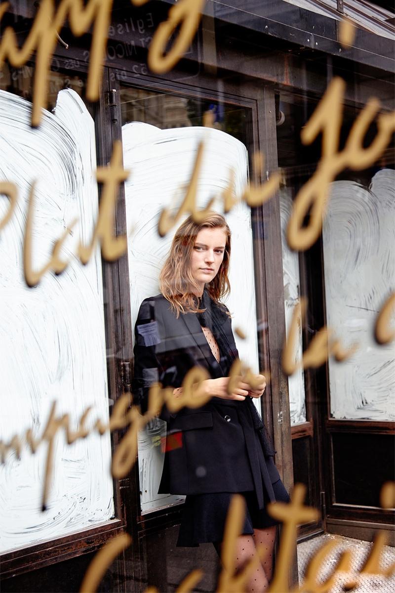 Laura Kampman Models The New Daywear from Zara