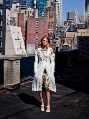 Lindsay Ellingson Takes On Fall for L'Officiel Turkey's September Cover Story
