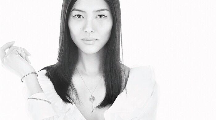 Liu Wen for Tiffany & Co.