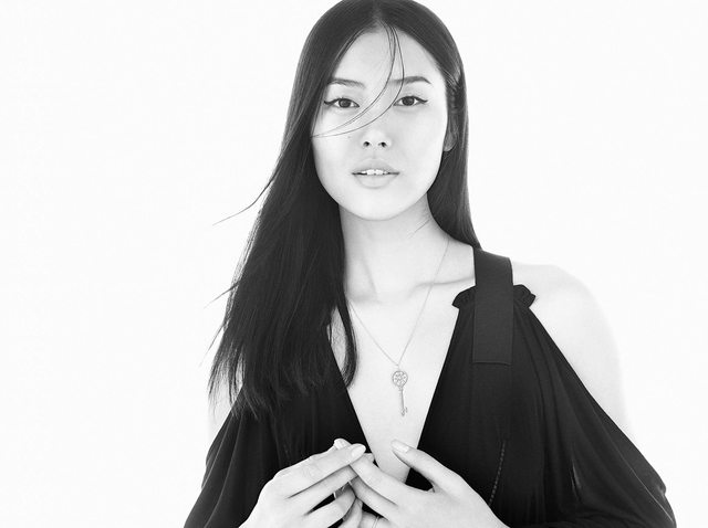 Liu Wen Enchants for Tiffany & Co.