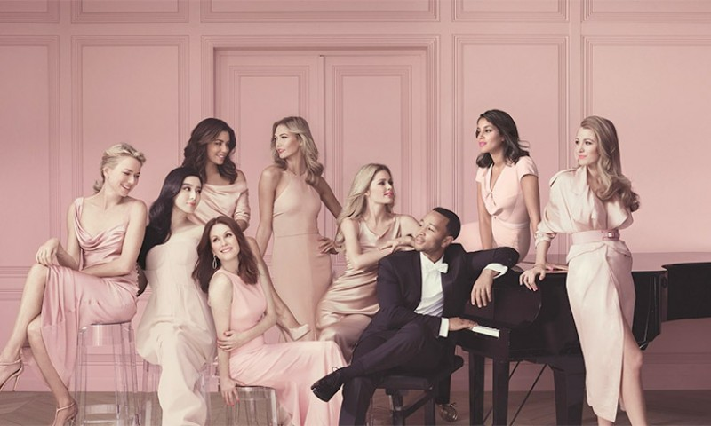 L Oreal Paris Ambassadors Look Pretty In Pink For New Ad
