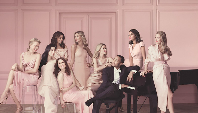 L'Oreal Paris Ambassadors Look Pretty in Pink for New Ad