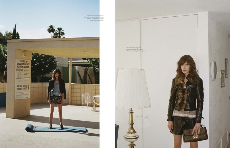 Lorelle Rayner Wears Louis Vuitton for L'Officiel Mexico's September Cover Story