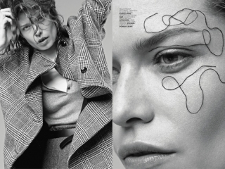 Louise Pedersen Wears Chic Separates for Marie Claire Italia by Nagi Sakai
