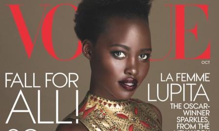 Lupita Nyong'o on Vogue October 2015 cover