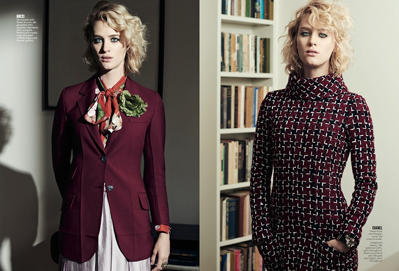 Mackenzie Davis Takes on Quirky Looks for InStyle