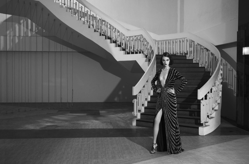 Magda Laguinge Channels Her Inner Siren for Bergdorf Goodman