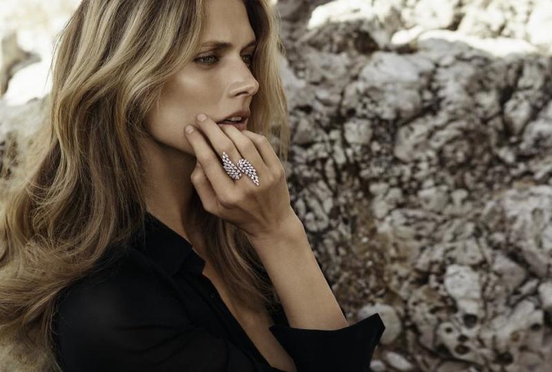 Malgosia Bela stars in Messika Jewelry campaign
