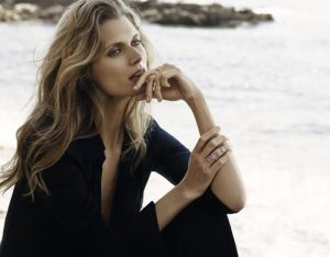 Malgosia Bela is a Beach Beauty for Messika Jewelry