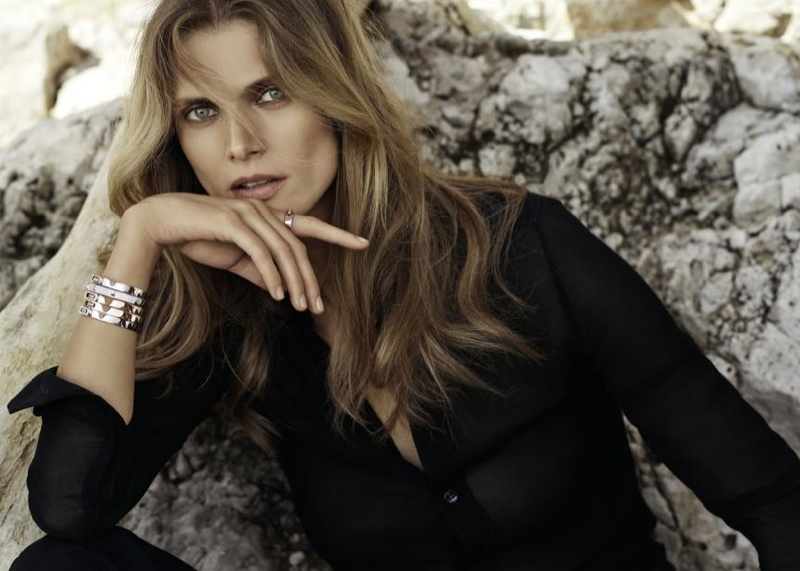Malgosia models Messika's MOVE collection