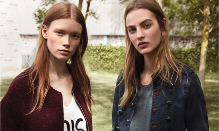 Julia Hafstrom and Maartje Verhoef star in Mango 'The New Basics' lookbook