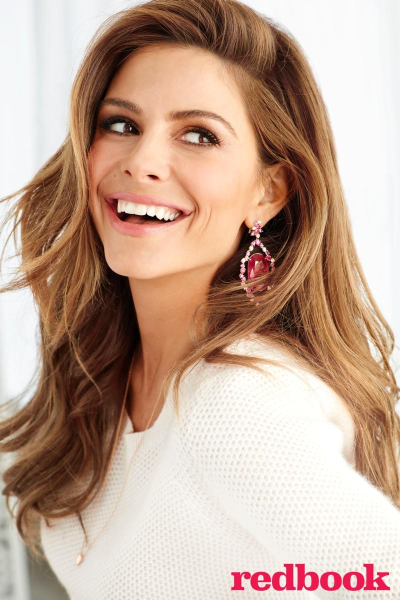 Maria Menounos stars in Redbook Magazine October 2015 issue