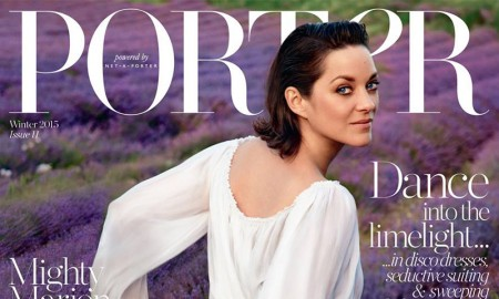 Marion Cotillard stars on PORTER Magazine winter 2015 cover