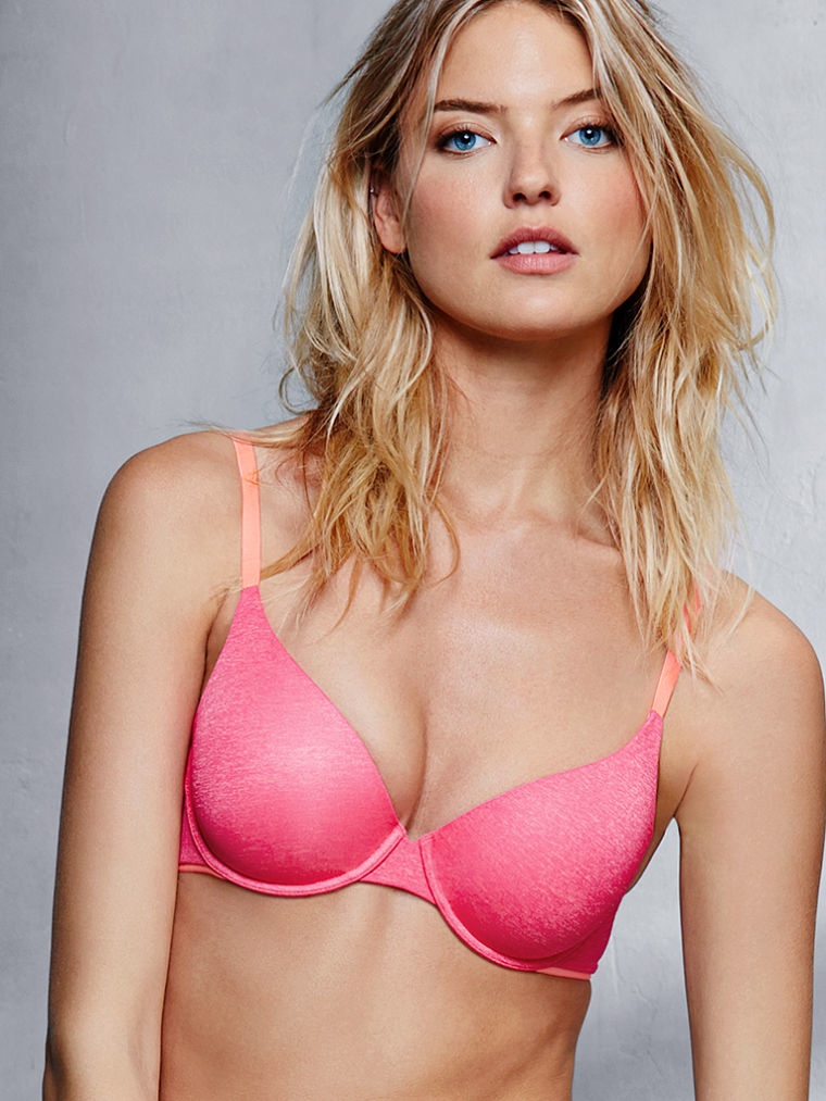 40821f71a67 Martha Hunt Stars in Sexy Victoria s Secret Photos