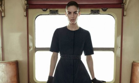 Hilary Rhoda stars in Max Mara Cube's fall-winter 2015 campaign