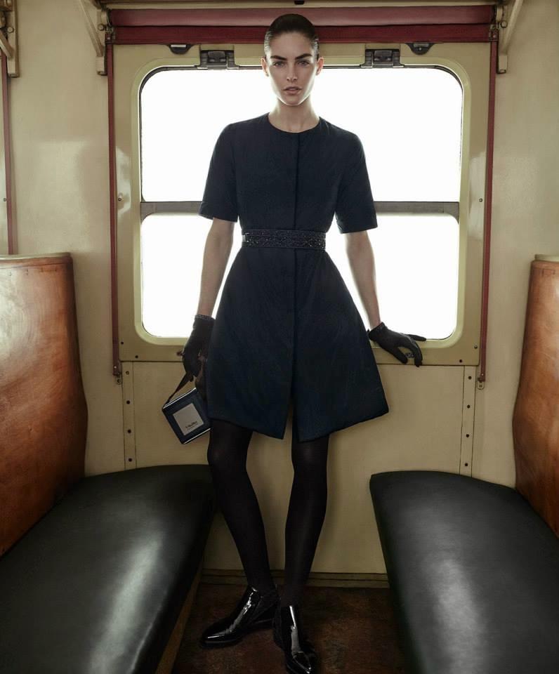 Hilary Rhoda stars in Max Mara Cube's fall-winter 2015 campaign