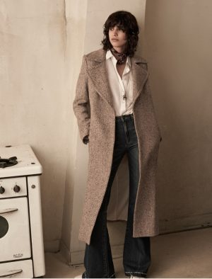Mica Arganaraz Models Rock & Roll Essentials From Mango