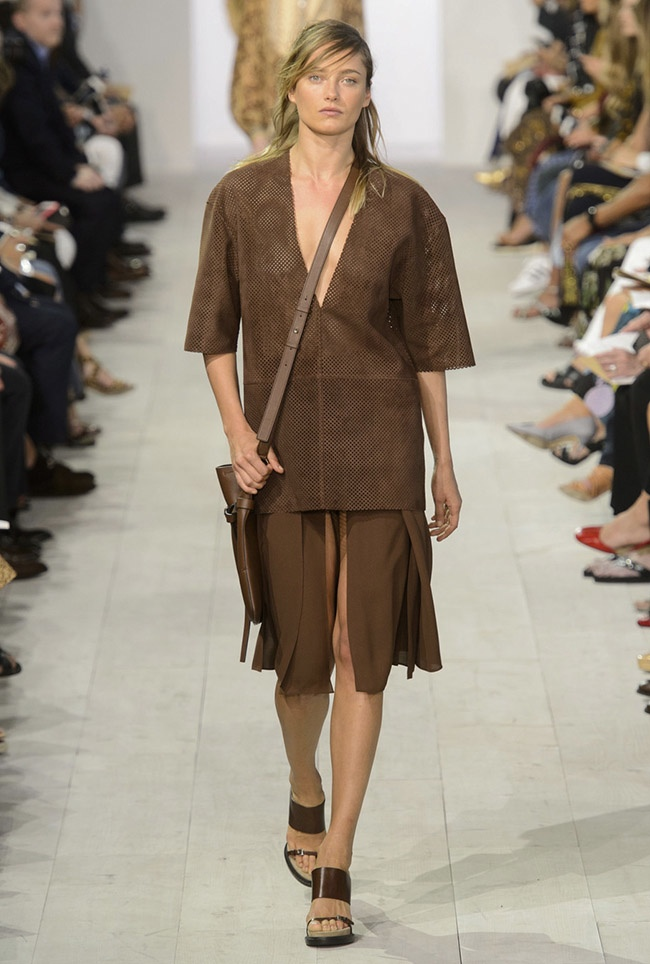 A look from Michael Kors' spring-summer 2016 collection
