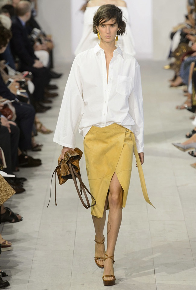 A look from Michael Kors Collection spring 2016 show