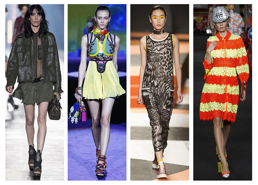 The 4 Biggest Trends From Milan Fashion Week Spring / Summer 2016