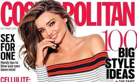 Miranda Kerr on Cosmopolitan Australia October 2015 cover