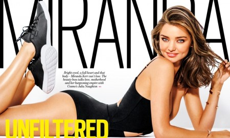 Miranda Kerr stars in Cosmopolitan Australia's October issue
