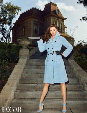Miranda Kerr is Ready for Halloween in BAZAAR Editorial