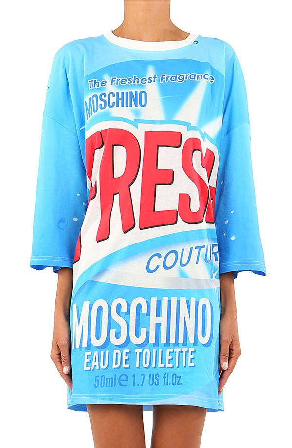 Fresh Off the Runway  Moschino s Spring 2016 Capsule Collection ... 8e44582b4ad
