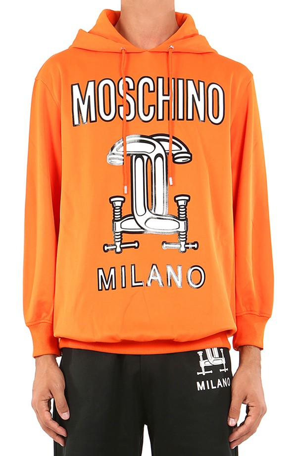 Moschino Milano Hooded Sweatshirt