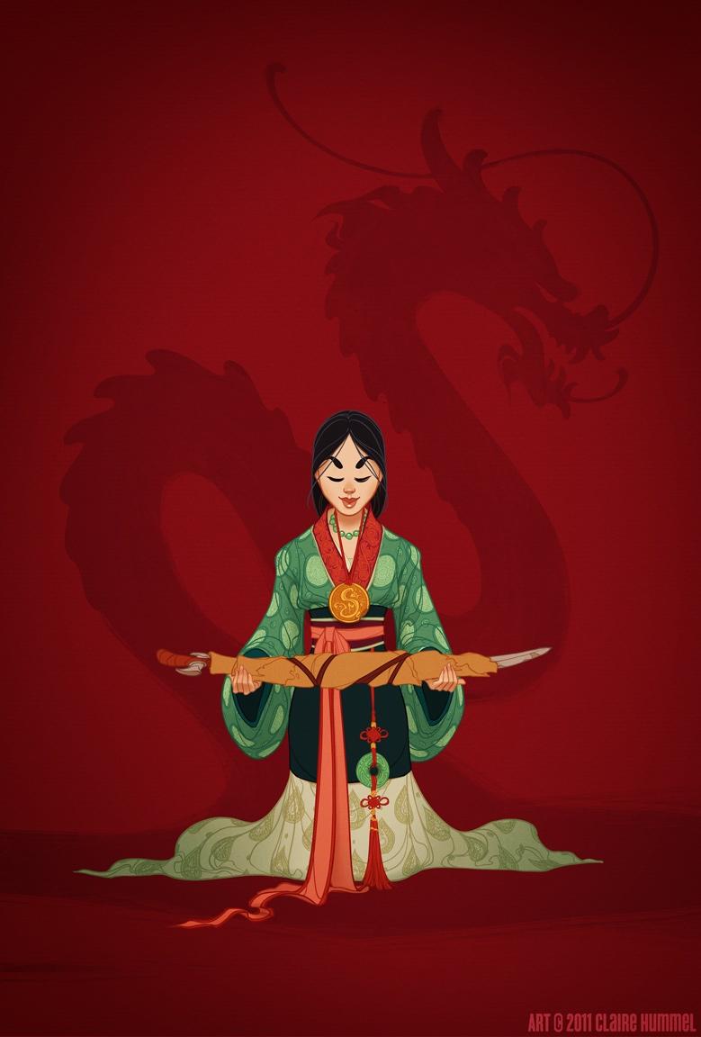 Mulan (Wei Dynasty, Western Han Dynasty & Ming Dynasty Influences) Photo: Claire Hummel