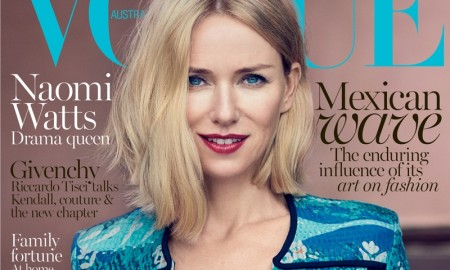 Naomi Watts on Vogue Australia October 2015 cover