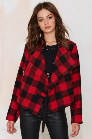 Rad Plaid: Nasty Gal's Checkered Jacket