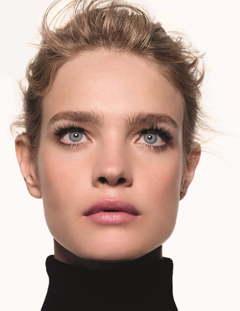 超模natalia Vodianova代言艾格 Etam 彩妆广告 艾格etam