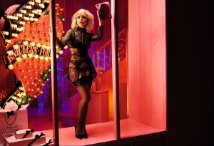 Paloma Faith Smolders in Agent Provocateur's Fall 2015 Campaign
