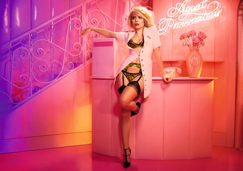 Paloma Faith stars in Agent Provocateur's fall-winter 2015 campaign