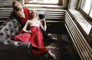 Patricia Van der Vliet Wears Dreamy Gucci Looks in BAZAAR Singapore