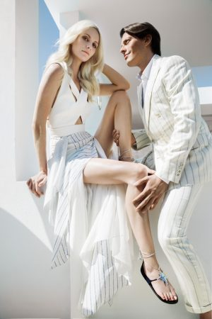 Poppy Delevingne Teams Up with Aquazarra for Shoe Line