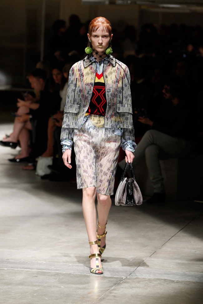 Prada Spring 2016 | Milan Fashion Week