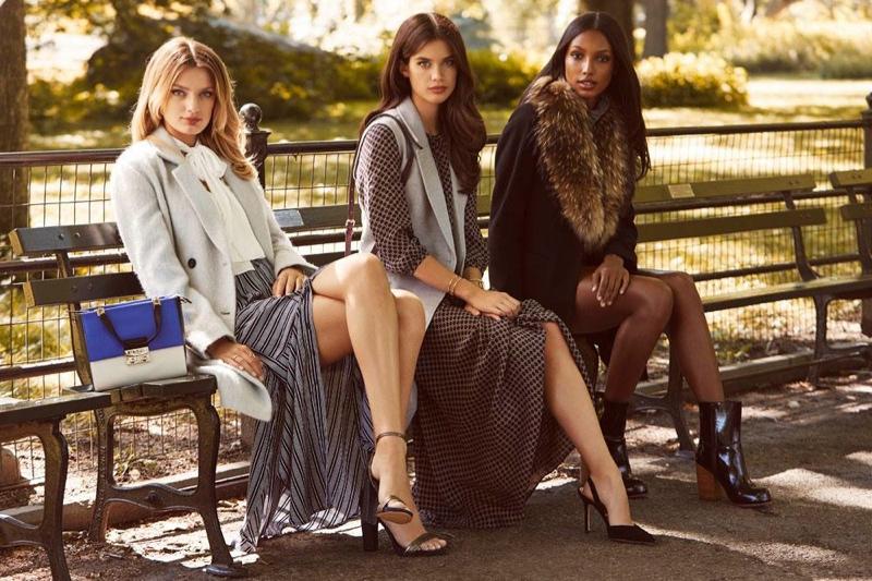 Bregje Heinen, Sara Sampaio and Jasmine Tookes for REVOLVE Clothing