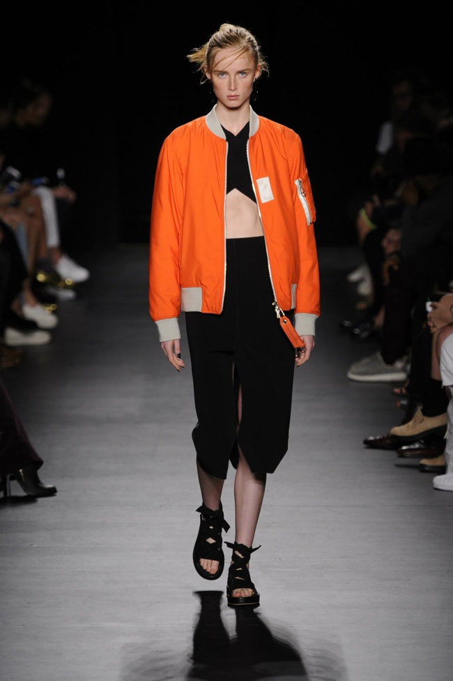 A look from Rag & Bone's spring 2016 collection